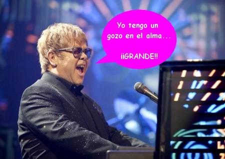 Elton John ya es papá de dos criaturas, ¡bienvenido Elijah Joseph Daniel Furnish-John!