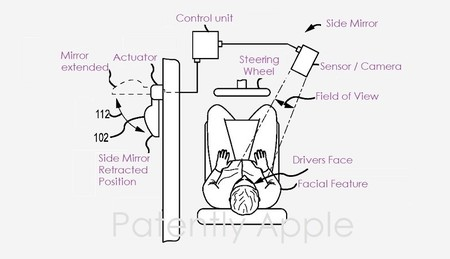 Apple también quiere eliminar los puntos ciegos de los coches y ya tiene una interesante patente para ello