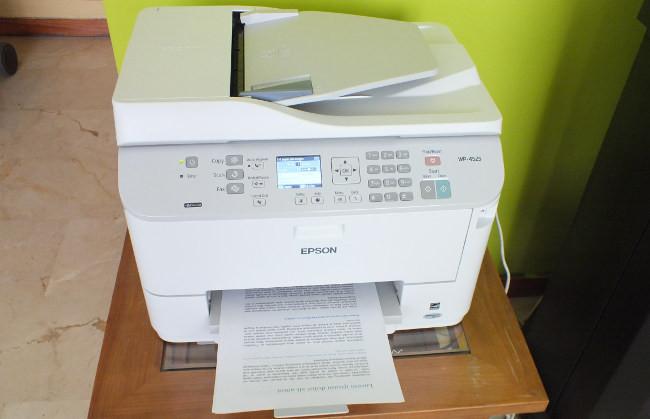Ubicación impresora