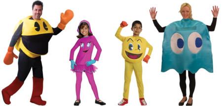 Disfraz Pacman Familia
