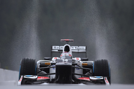 La lluvia desluce la primera jornada del Gran Premio de Bélgica