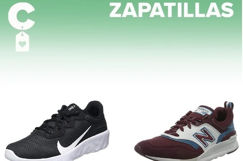 Chollos en tallas sueltas de  zapatillas Nike, New Balance o Under Armour por menos de 35 euros en Amazon