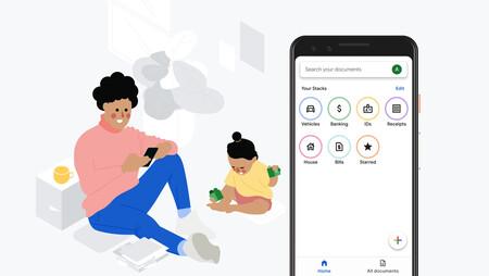 Google lanza Stack, una aplicación para escanear y organizar documentos inteligente
