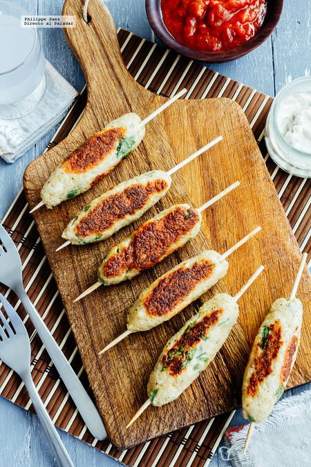 Cómo hacer unas deliciosas koftas de pollo