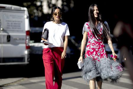 street style primavera 2018 tendencias flecos
