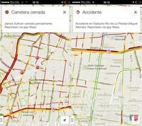 Google integra información de Waze
