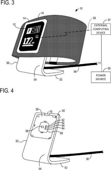 Patente para Smartwatch de Microsoft