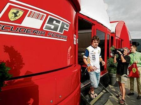 Fernando Alonso a Ferrari ¿para este jueves en Suzuka?