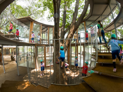 La fantástica escuela infantil Fuji Kindergarten: desearás volver a ser niño y vivir en Tokio