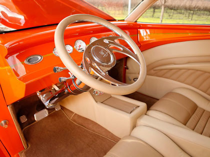 1937 Ford Sedan Dreamsicle
