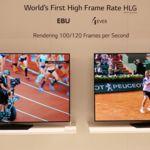 LG muestra el potencial del HFR a 100 fps con sus paneles OLED