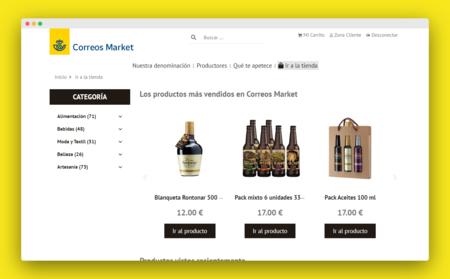 """Correos ya tiene su """"mini Amazon"""", un mercado online de productos locales con envío gratis"""