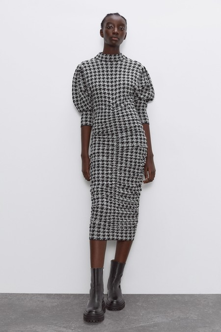 Vestido Jacquard Zara 03
