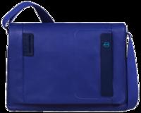 Piquadro y su fantástica gama de equipaje urbano en azul eléctrico