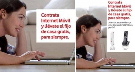 Vodafone en tu casa gratis para siempre si tienes Internet Contigo Ilimitado