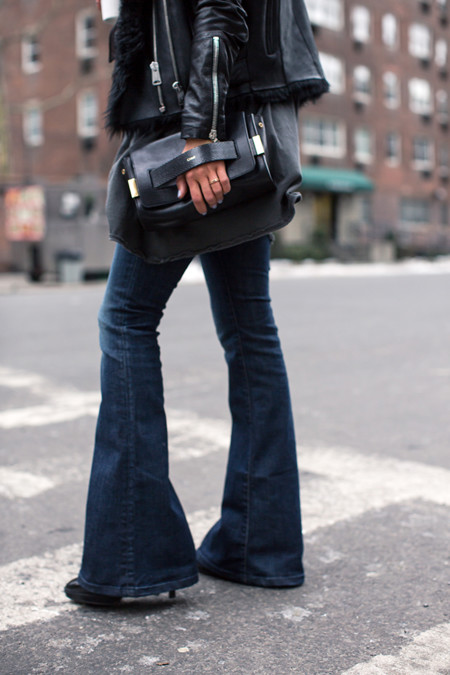 Aimee Song Flare Jeans