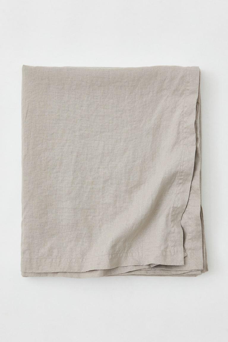 Mantel en lino lavado 140 x 320 cms