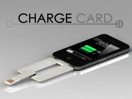 ChargeCard, un cargador para móviles con forma de tarjeta de crédito