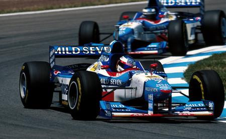 Jean Alesi y Gerhard Berger - Benetton B197