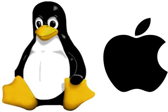 apple tux linux
