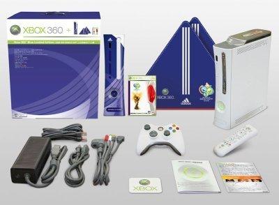 Edición especial de XBox 360 para el Mundial 2006