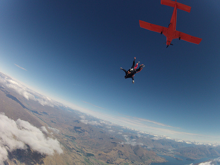 Sky Diving Wanaka 02