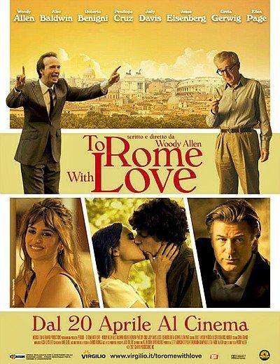 'To Rome With Love' de Woody Allen, cartel y primer vídeo con imágenes de la película