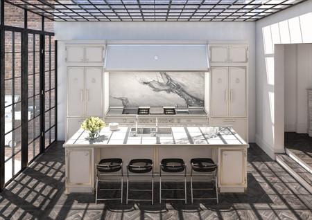 Una impresionante cocina reformada y conectada con el exterior en el corazón de Londres