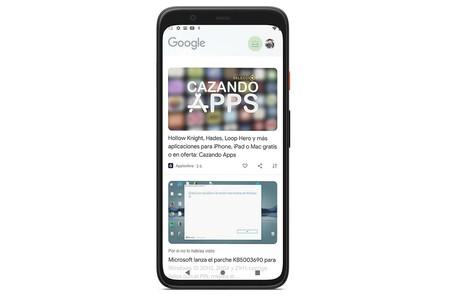 Google activa el rediseño de Discover para todo el mundo, primero en Android 12