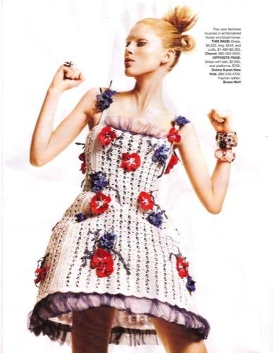 Los vestidos de moda para esta Primavera-Verano 2010. Chanel