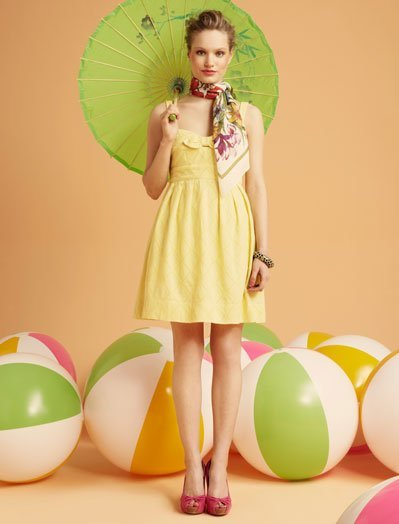 Amarillo Blanco, lookbook Verano 2011