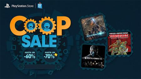 Comienza la venta especial de PSN llamada Co-op Sale con descuentos de hasta un 60%