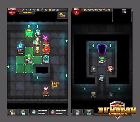 Pocket Dungeon Gameplay