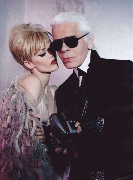 Vanessa Paradis como Edie Sedgwick ante los ojos de Lagerfeld