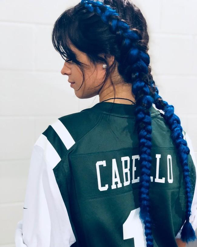 Las trenzas de colores conquistan a Camila Cabello (y a todo Instagram). Y no, no hace falta teñirse el pelo