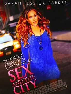Nuevo cartel para la película de Sexo en Nueva York