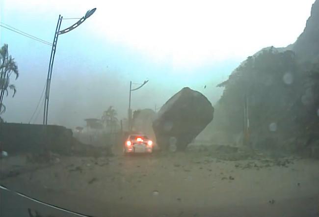 Corrimiento de tierras en Taiwan