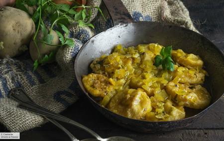 Patatas a la importancia: receta tradicional de orígen palentino