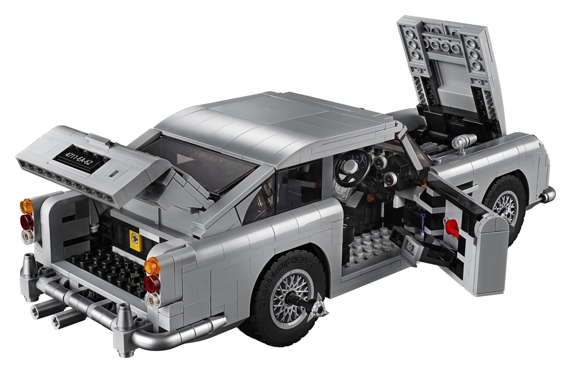 Foto de Aston Martin DB5 007 de LEGO (18/39)