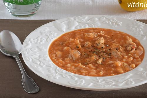 Pollo marinado con leche de coco y arroz: receta saludable