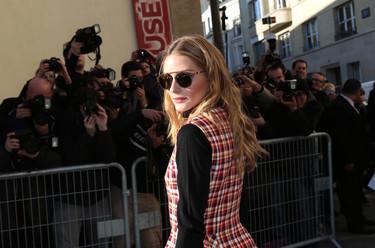 Las celebrities se encuentran en el desfile de Dior Alta Costura y Olivia Palermo vuelve a brillar