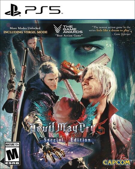 Juego Devil May Cry 5 para PS5 en oferta