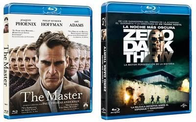 'The Master' y 'La noche más oscura' ya a la venta en dvd y blu-ray