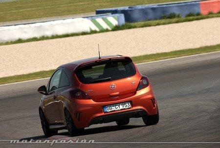 Opel Corsa OPC Nürburgring Edition, presentación y prueba en el Circuito de Lausitz (parte 2)