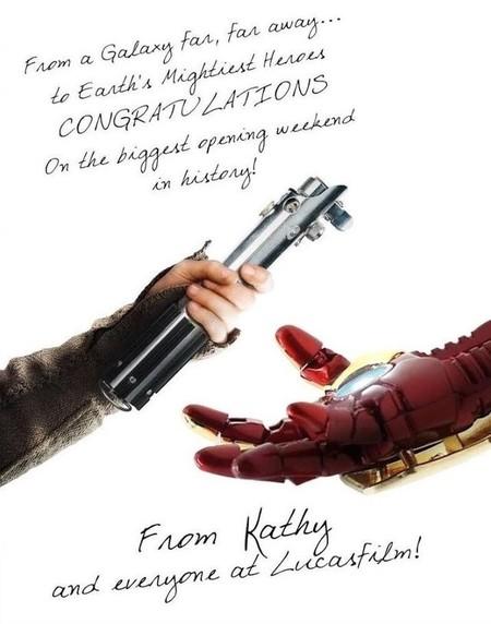 Felicitación Vengadores