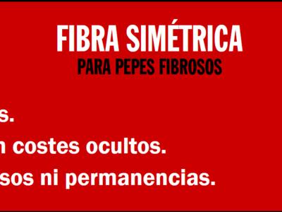 La fibra de Pepephone: 300 Mbps simétricos por 34,60 euros al mes y 190 euros de alta
