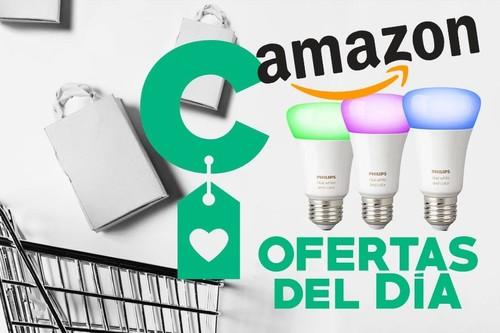 Compatibles con Alexa, HomeKit y Google Home, hoy en las ofertas de primavera de Amazon tienes rebajados 3 sets de iluminación Philips Hue