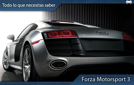 'Forza Motorsport 3': todo lo que necesitas saber