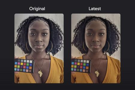 Google está modificando su app de cámara para reproducir los colores de tez oscura de manera más precisa