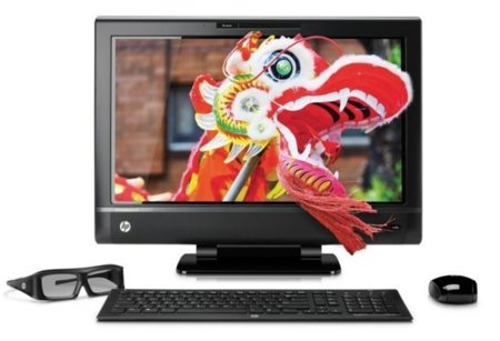 HP TouchSmart 620 3D, un paso inevitable